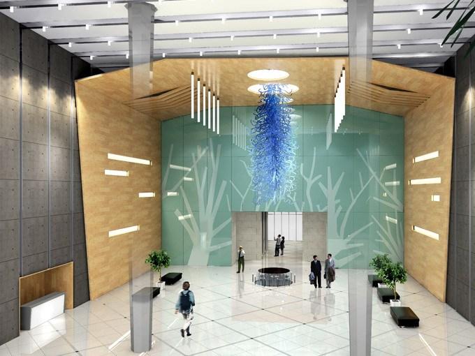 中易融金大厦室内设计案例