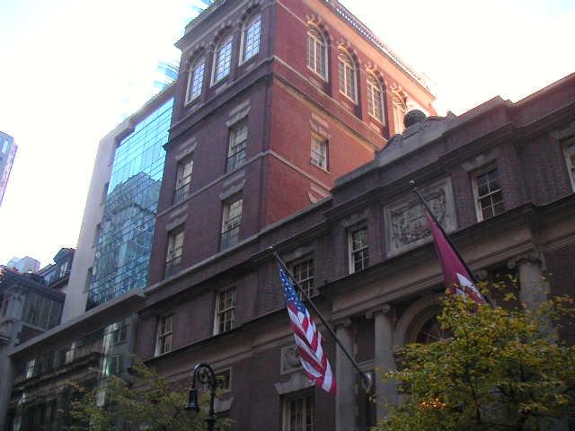 哈佛私人会所(Harvard Club)
