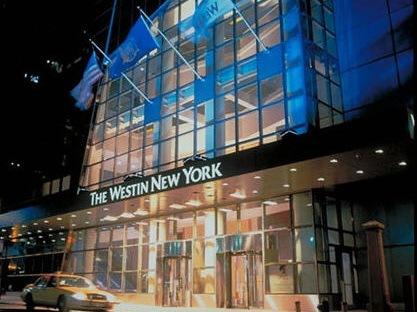 纽约时代广场威斯汀大厅