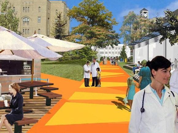 辛辛那提儿童医院医学中心-自由校区总体规划