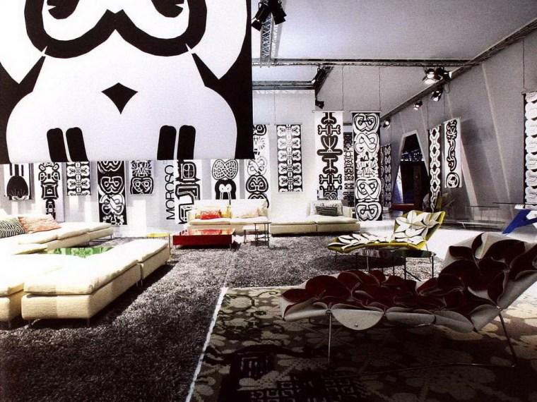 顶级沙发公司MOROSO展柜