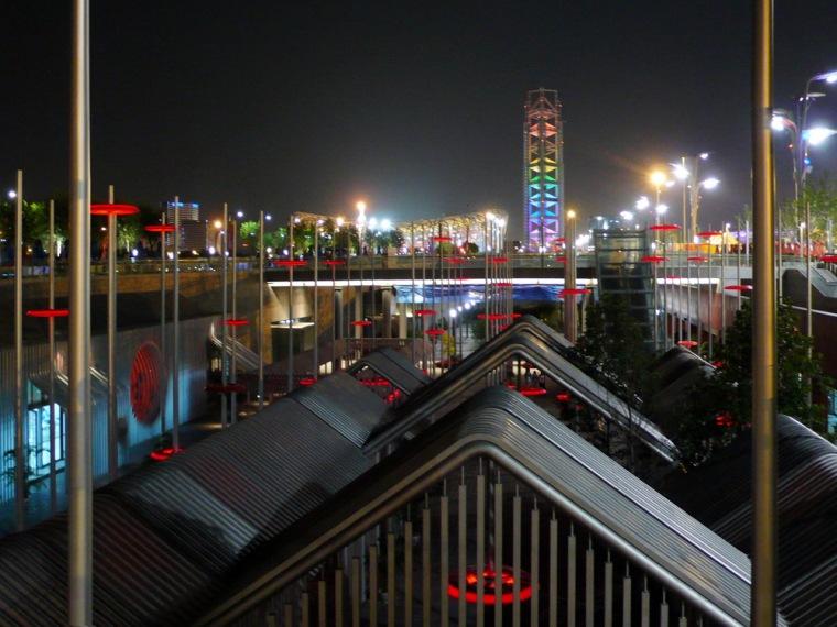 北京奥林匹克公园下沉广场空间设计