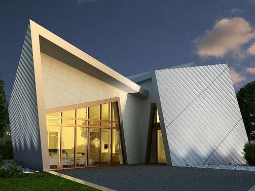 丹尼尔里伯斯金设计的活动房屋
