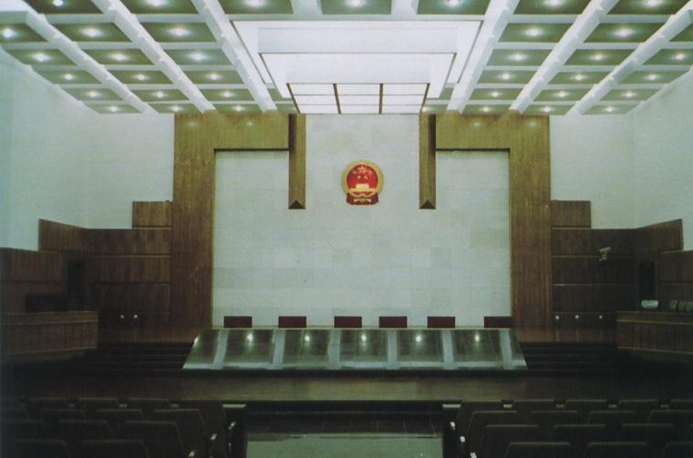 昆明市中级人民法院室内设计第6张图片