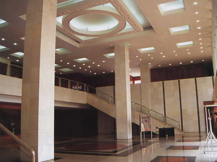 昆明市中级人民法院室内设计第1张图片