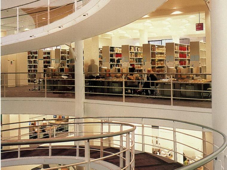 新伦敦内饰设计学校 图书馆