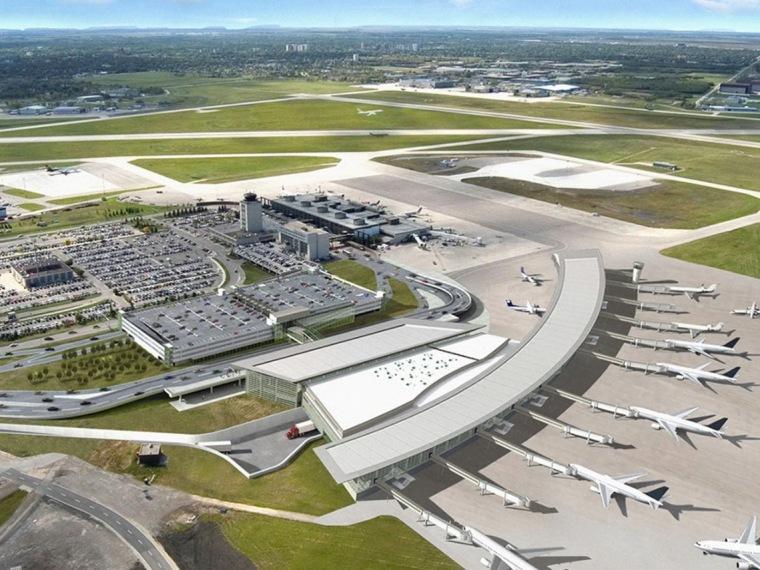 温尼伯国际机场新机场客运大楼