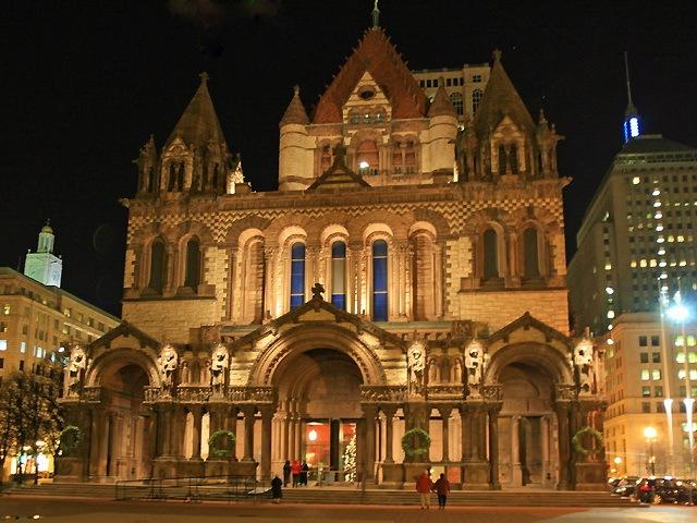 波士顿三位一体教堂