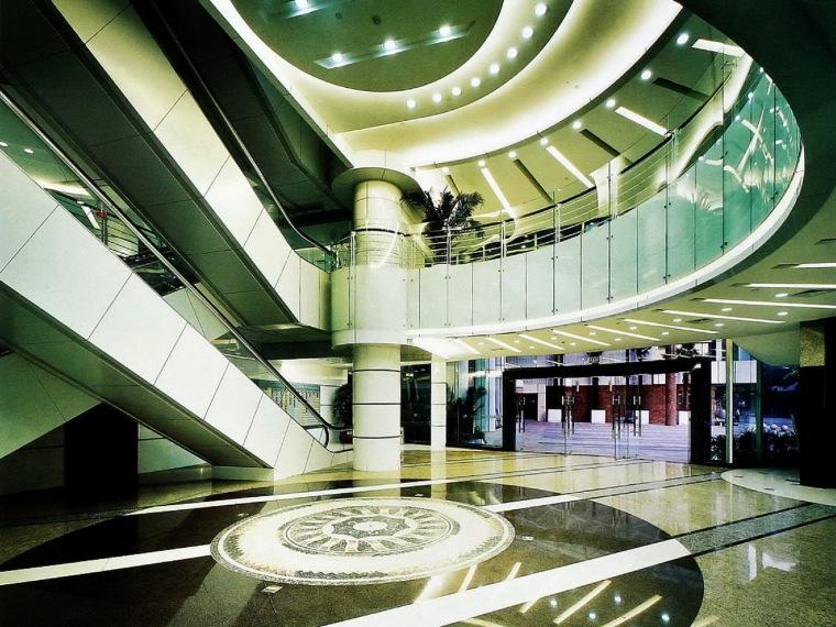 商场电梯走道