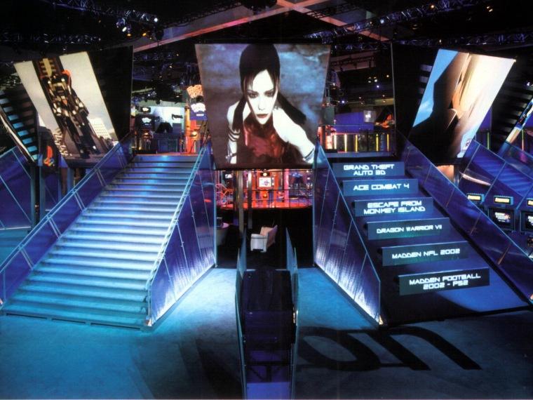 展览会展台--索尼游戏站