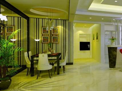居室设计--青岛180度观景样板房