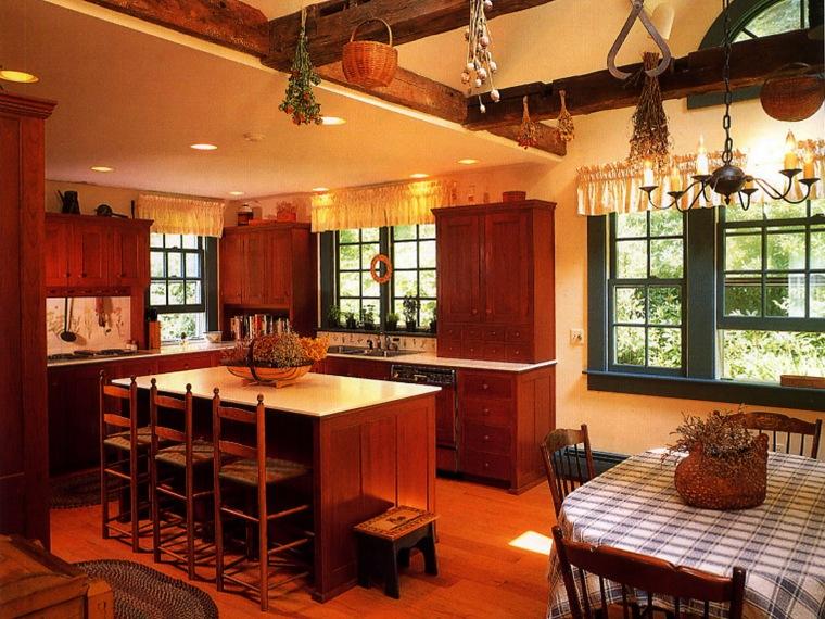 居室装饰--乡村的厨房:住宅的心脏