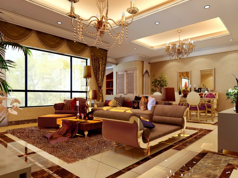 居室设计--家装效果