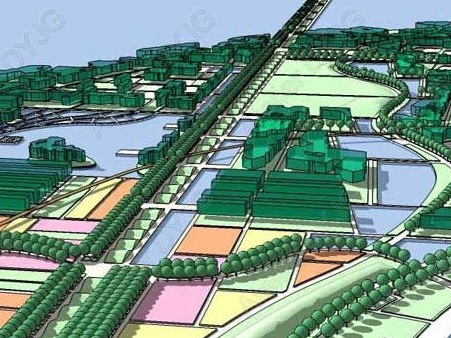 2007年厦门市园博园概念性规划