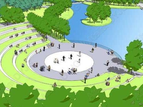 苏州科技学院新校区景观总体规划设计