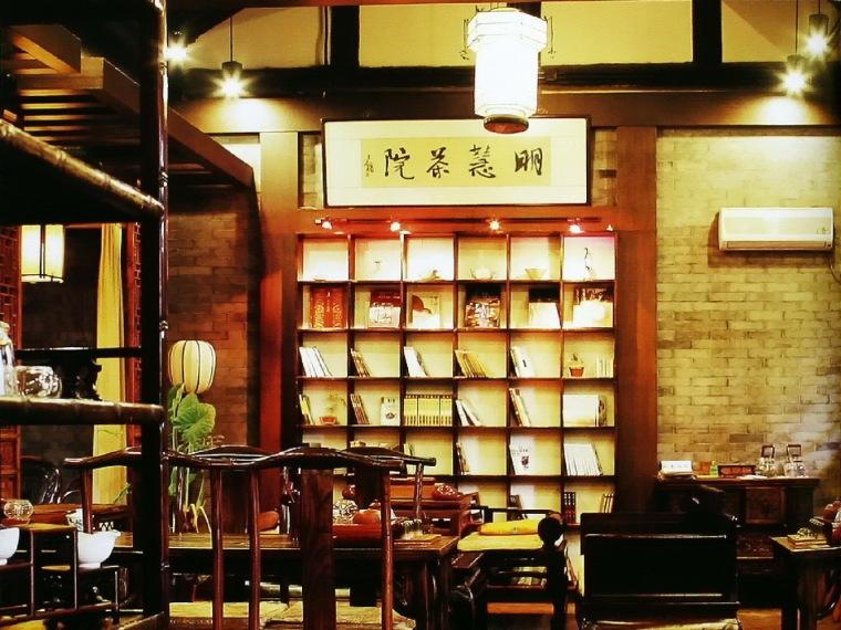 茶馆--佛院禅风