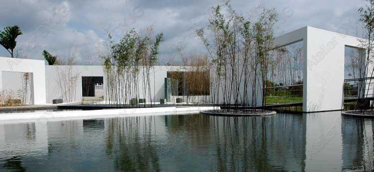 2007中国(厦门)国际园林花卉博览会设计师花园景观设计第4张图片