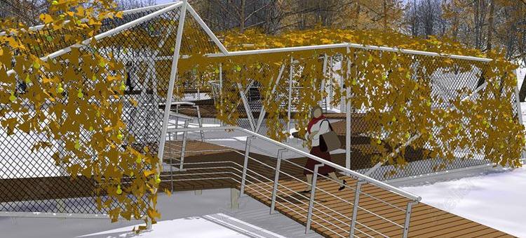 第7届中国(济南)国际园林花卉博览会设计师花园 第7张图片