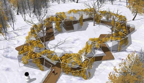 第7届中国(济南)国际园林花卉博览会设计师花园 第8张图片