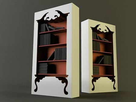 创意复古书架
