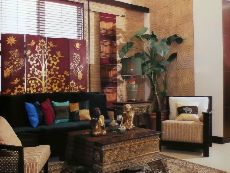 居室装饰--内敛的东南亚风情
