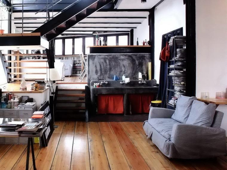 办公设计--楼梯作主的空间
