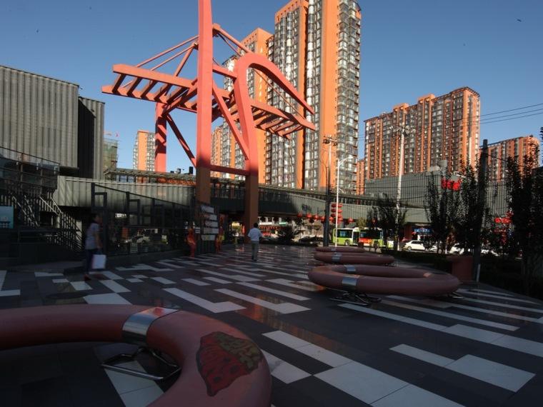 北京望京六佰本购物中心商业形象设计
