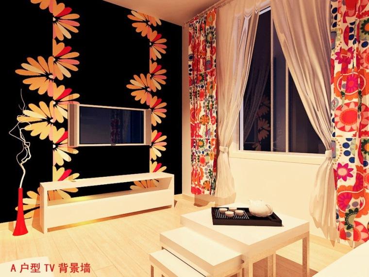 居室设计--株洲金域半岛MINIHOUSE小户型样板