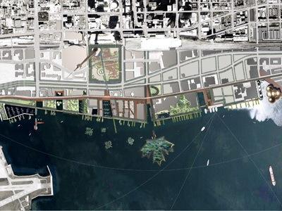 多伦多滨水中心景观设计