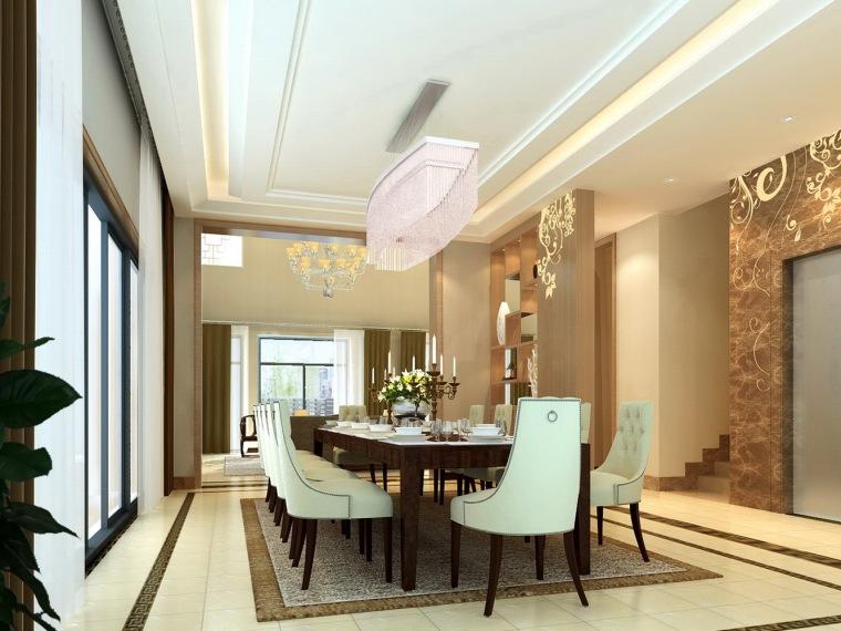 居室设计--万科棠樾效果图