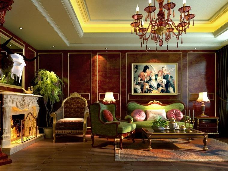 居室设计--欧式风格