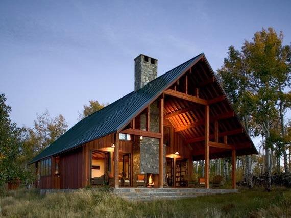 美国科罗拉多州的现代乡村别墅
