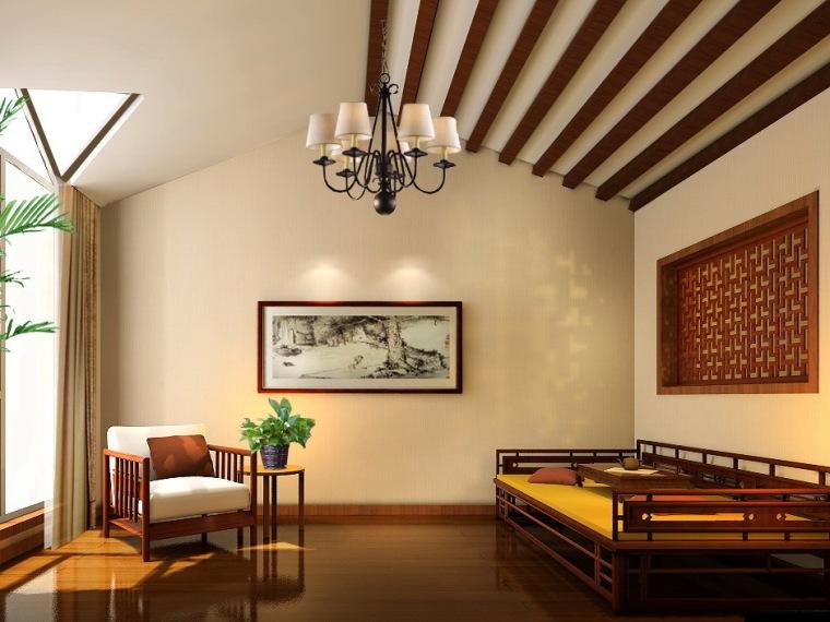 北京西山美墅馆新古典中式风格别墅设计作品