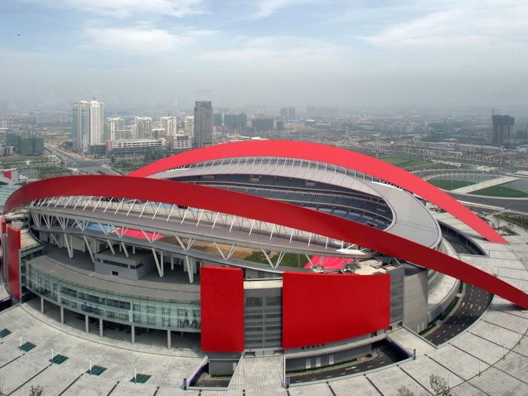 南京奥体中心体育场工程