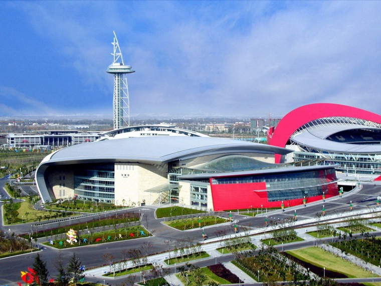 南京奥林匹克体育中心捆绑一体育馆
