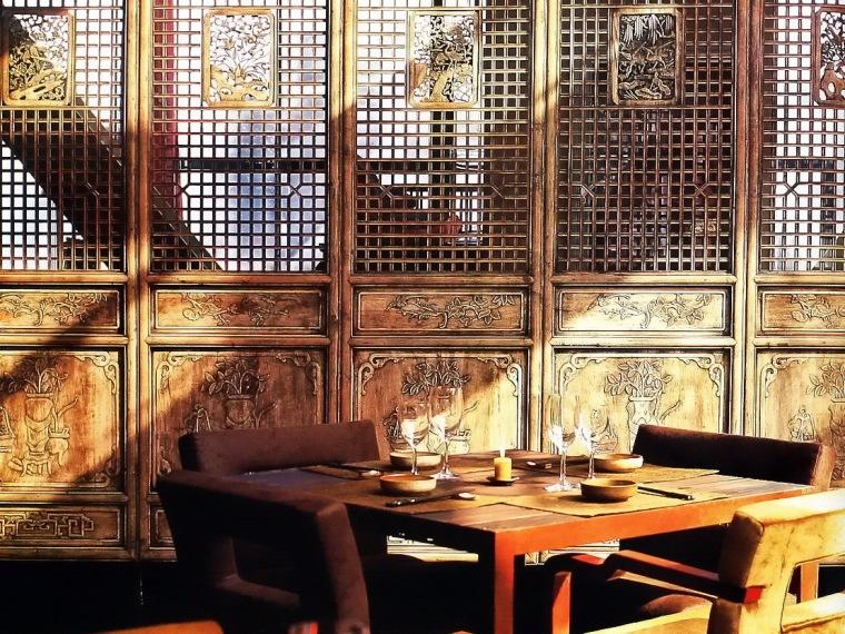 安逸之美韩国现代餐厅