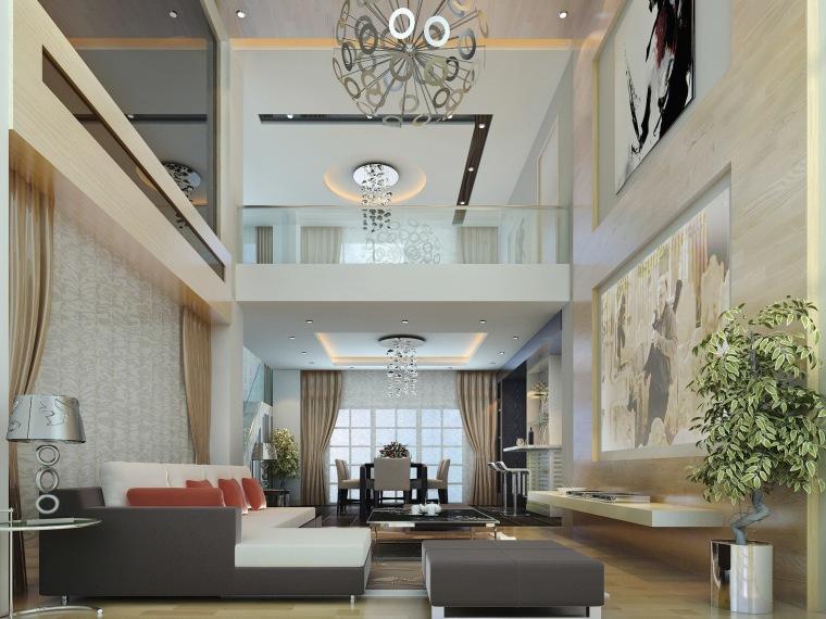 居室设计--东湖京华跃层设计方案