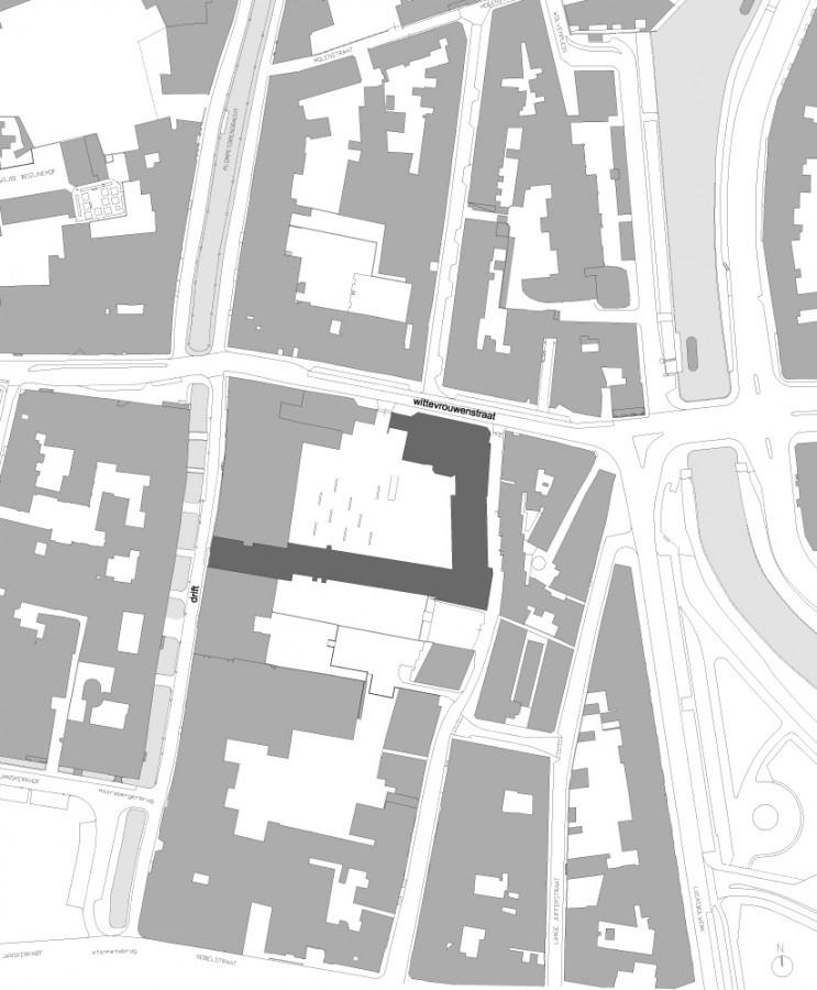 地势平面图 situation plan-乌德勒支大学图书馆第18张图片