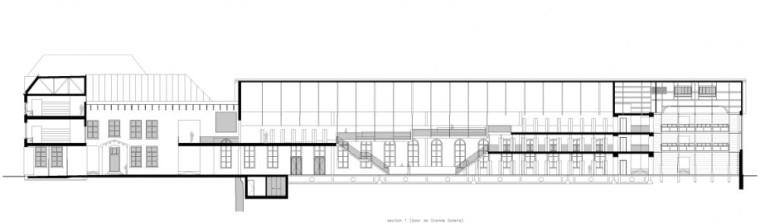 剖面图01 section 01-乌德勒支大学图书馆第20张图片