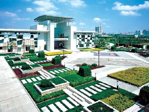 青岛市城阳中国区中轴线城市设计