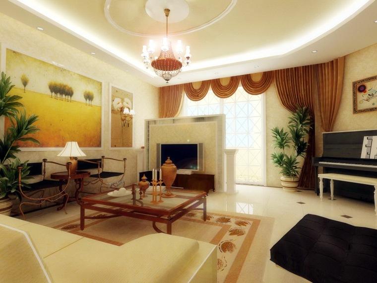 居室设计--爱我所爱-简欧情结