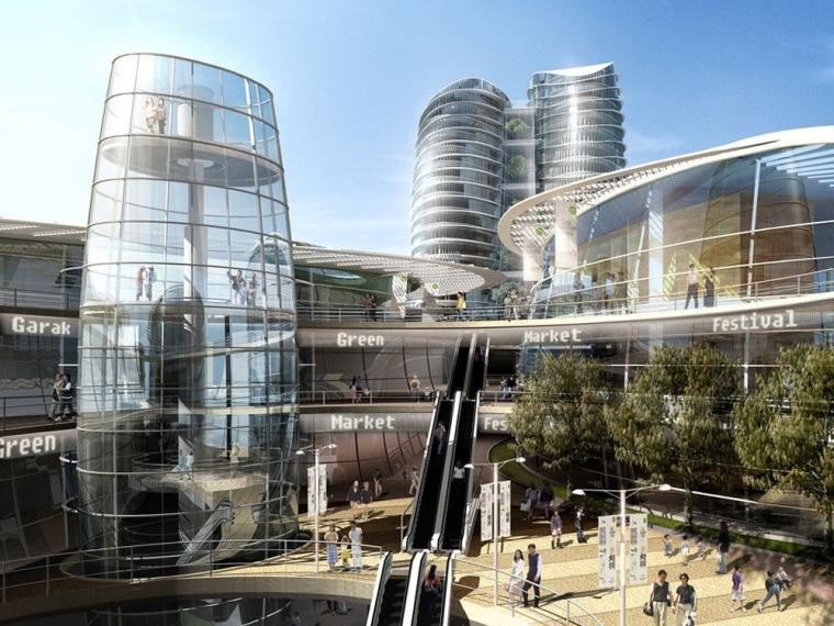 韩国首尔Garak市场改造设计