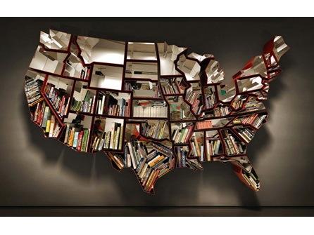 启发创意趣味书架