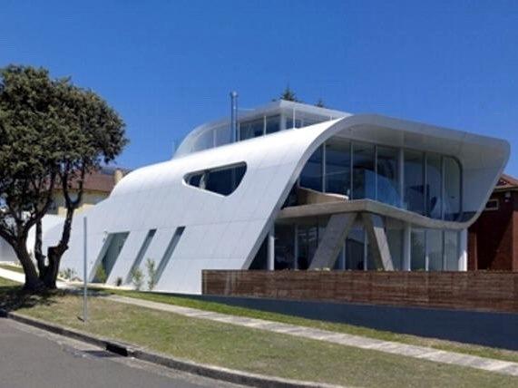 """悉尼未来""""流体建筑"""""""
