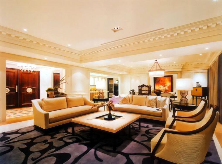 居室设计--元大建设一品苑150平方米样品屋台北第2张图片