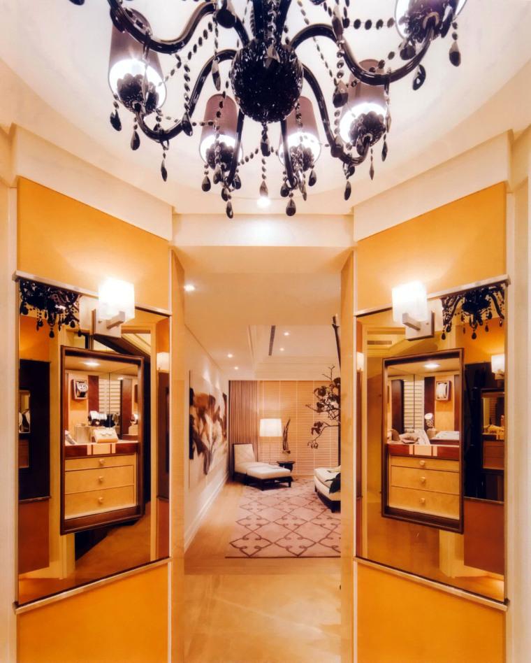 居室设计--元大建设一品苑150平方米样品屋台北第3张图片