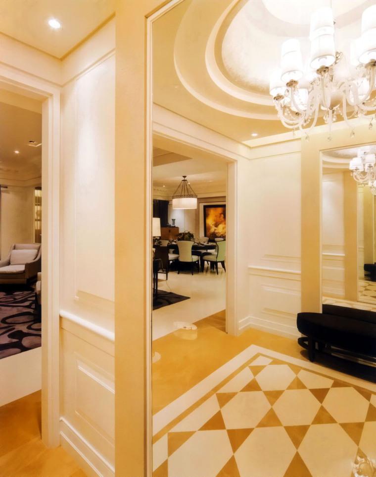 居室设计--元大建设一品苑150平方米样品屋台北第5张图片