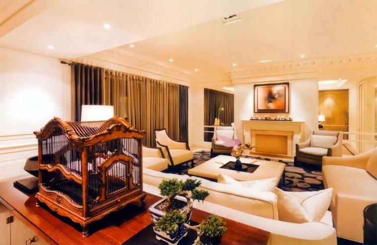 居室设计--元大建设一品苑150平方米样品屋台北第6张图片
