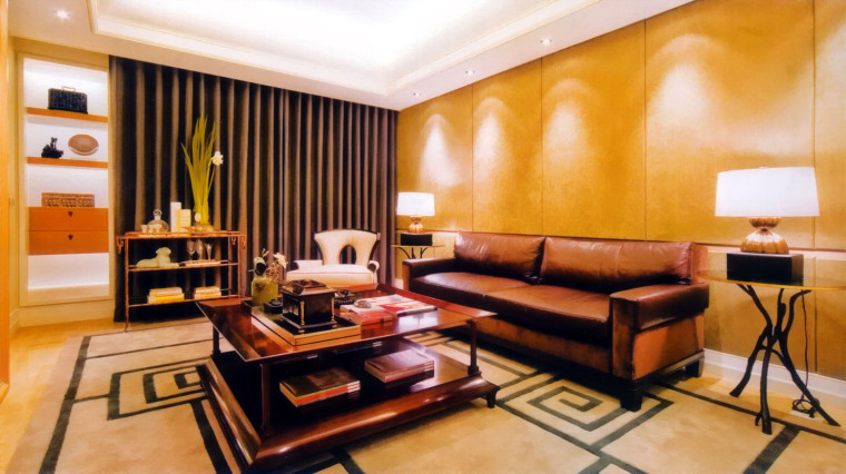 居室设计--元大建设一品苑150平方米样品屋台北第7张图片