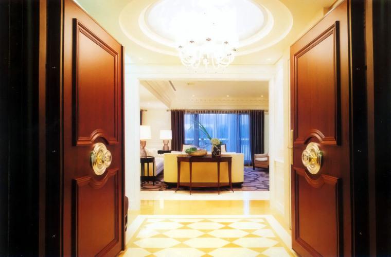 居室设计--元大建设一品苑150平方米样品屋台北第12张图片